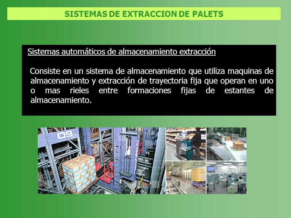 SISTEMAS DE EXTRACCION DE PALETS