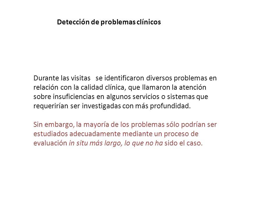 Detección de problemas clínicos