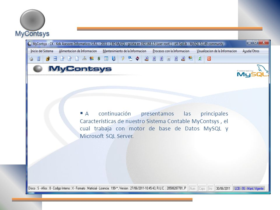 MyContsys