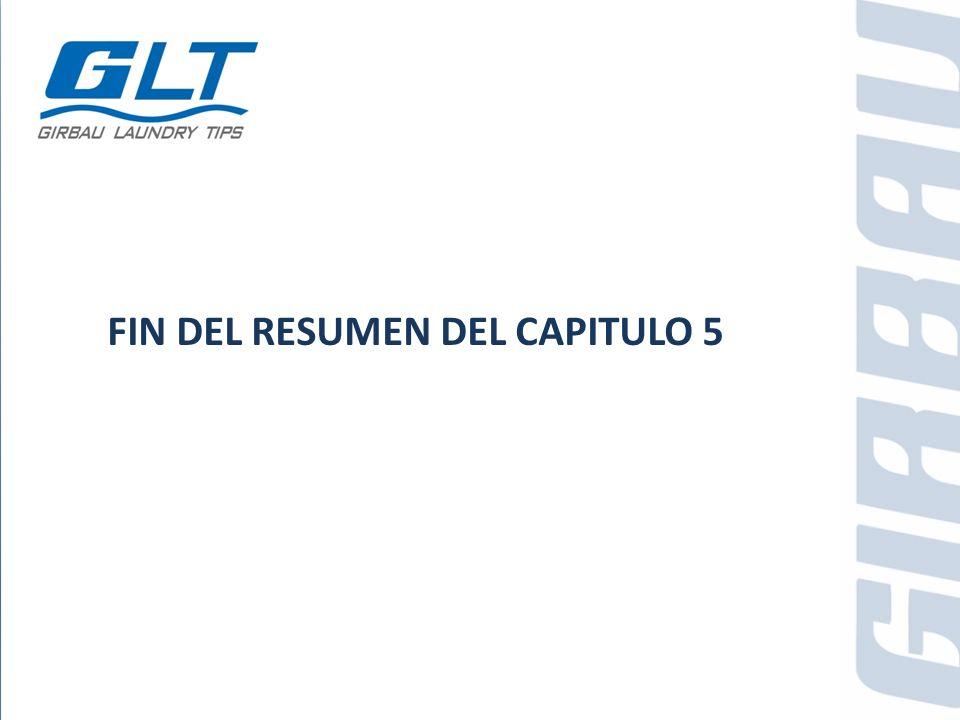 FIN DEL RESUMEN DEL CAPITULO 5
