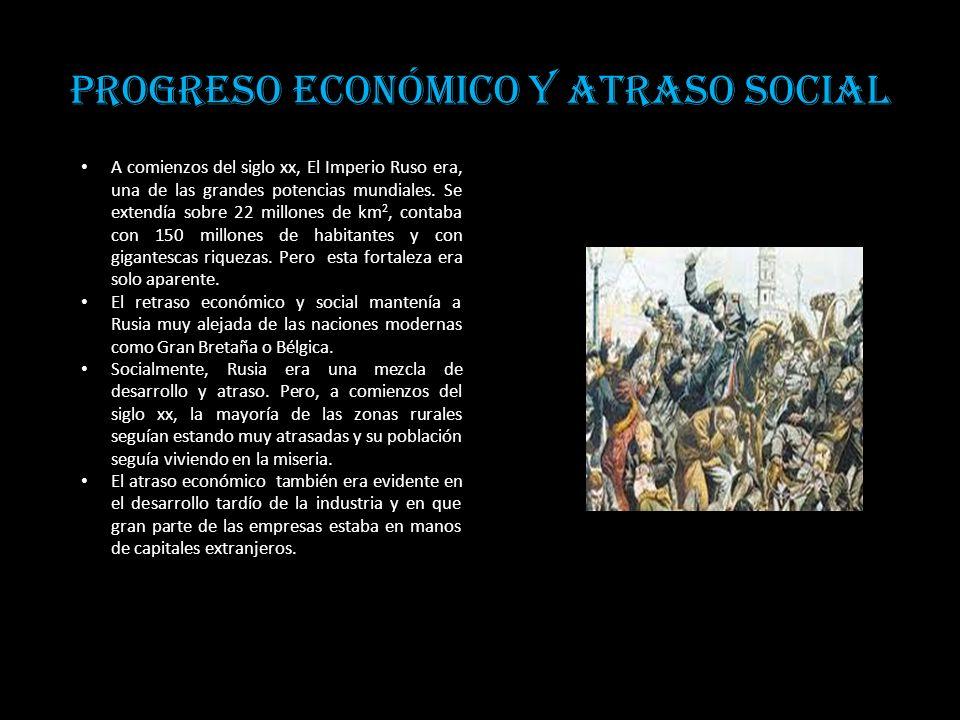 Progreso económico y atraso social