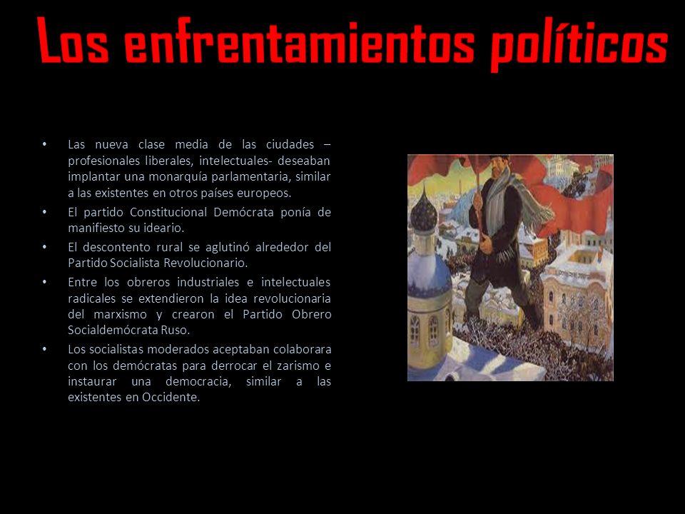 Los enfrentamientos políticos
