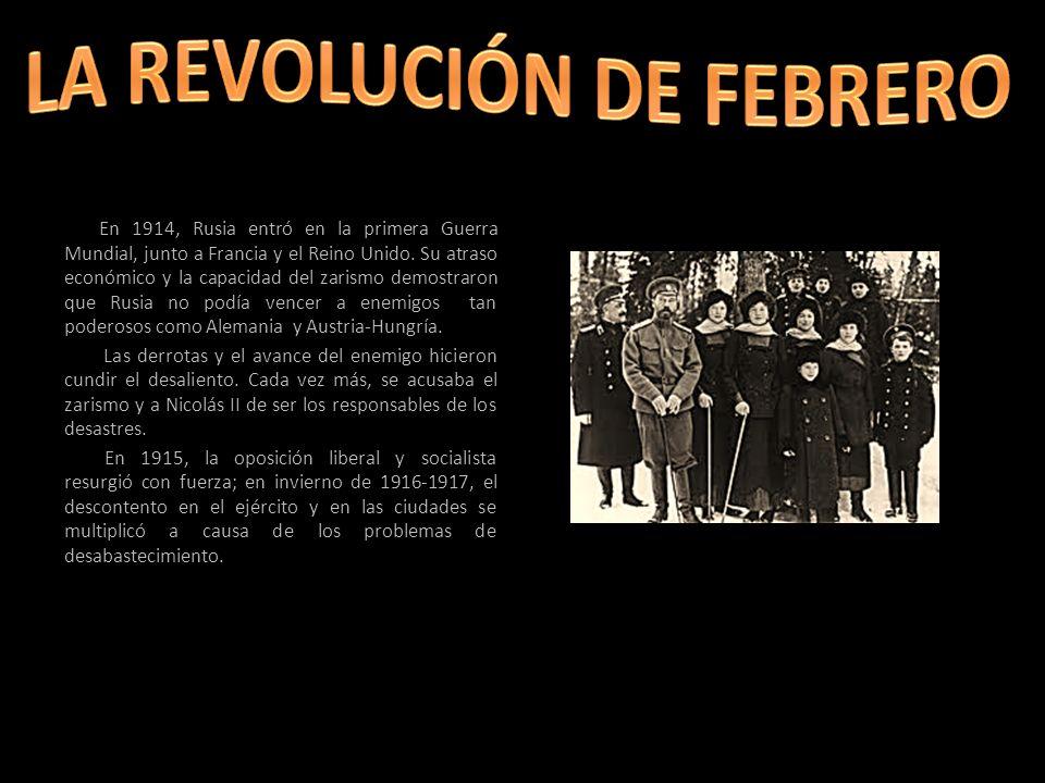LA REVOLUCIÓN DE FEBRERO