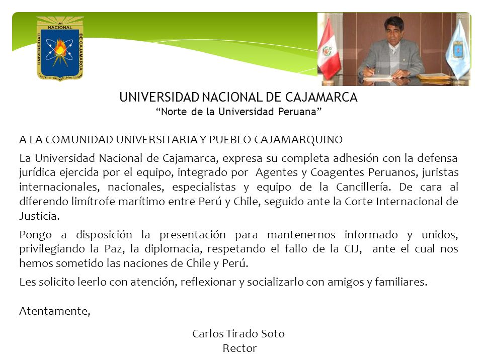 UNIVERSIDAD NACIONAL DE CAJAMARCA
