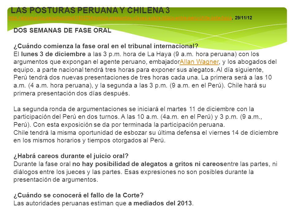 LAS POSTURAS PERUANA Y CHILENA 3