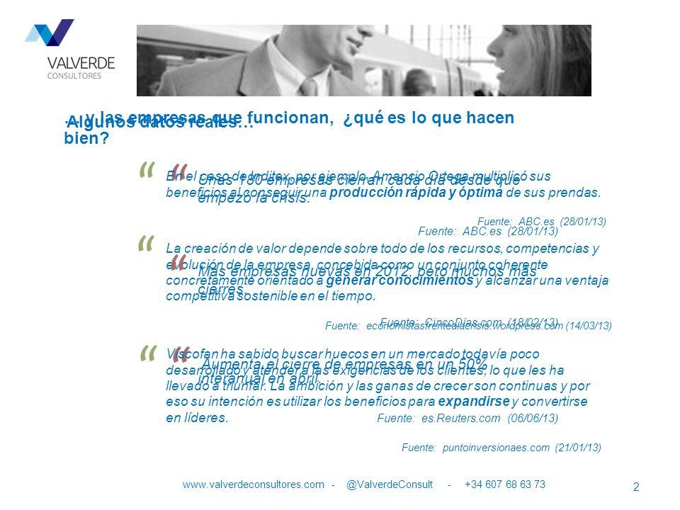 www.valverdeconsultores.com - @ValverdeConsult - +34 607 68 63 73