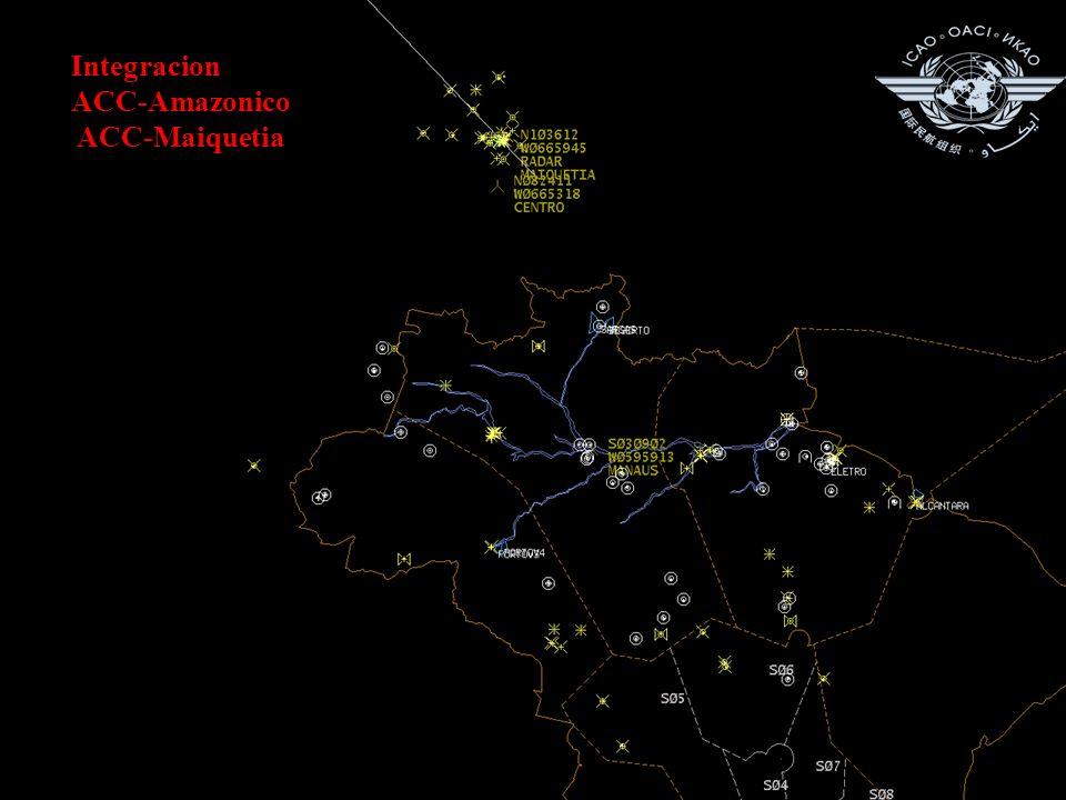 Integracion ACC-Amazonico ACC-Maiquetia