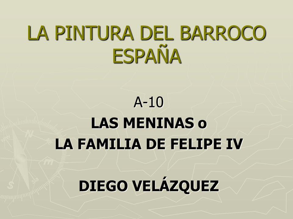 LA PINTURA DEL BARROCO ESPAÑA