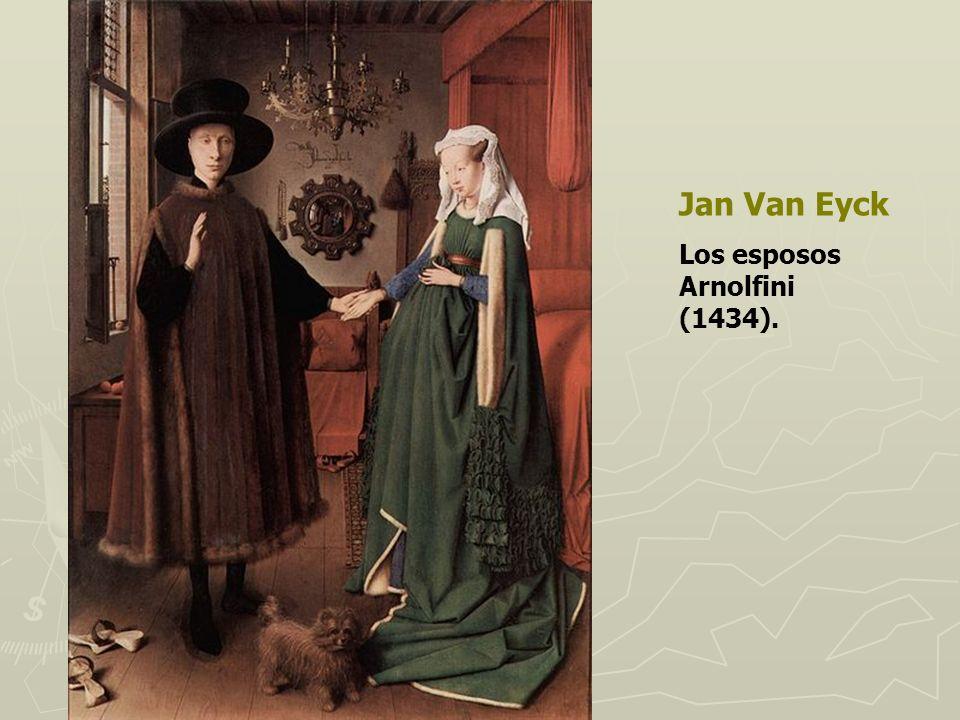 Jan Van Eyck Los esposos Arnolfini (1434).