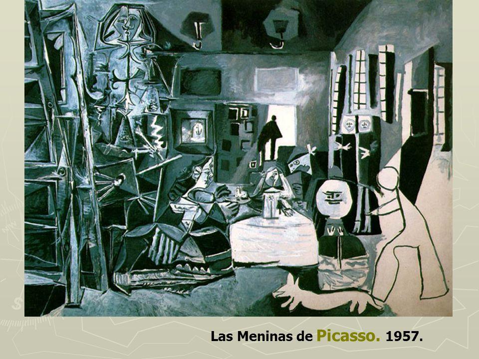 Las Meninas de Picasso. 1957.