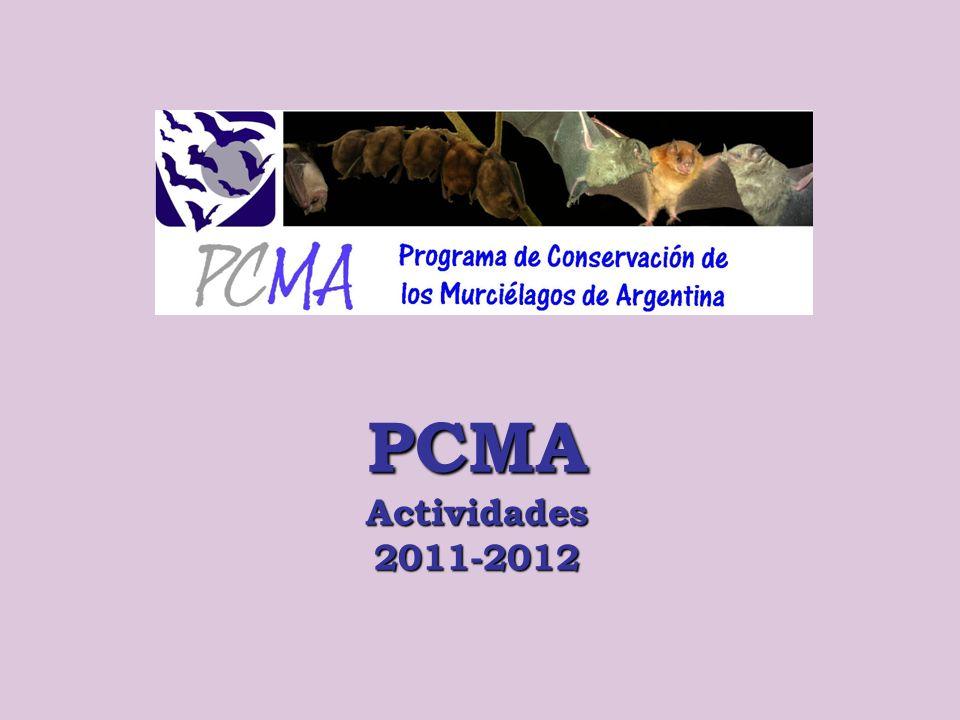 PCMA Actividades 2011-2012