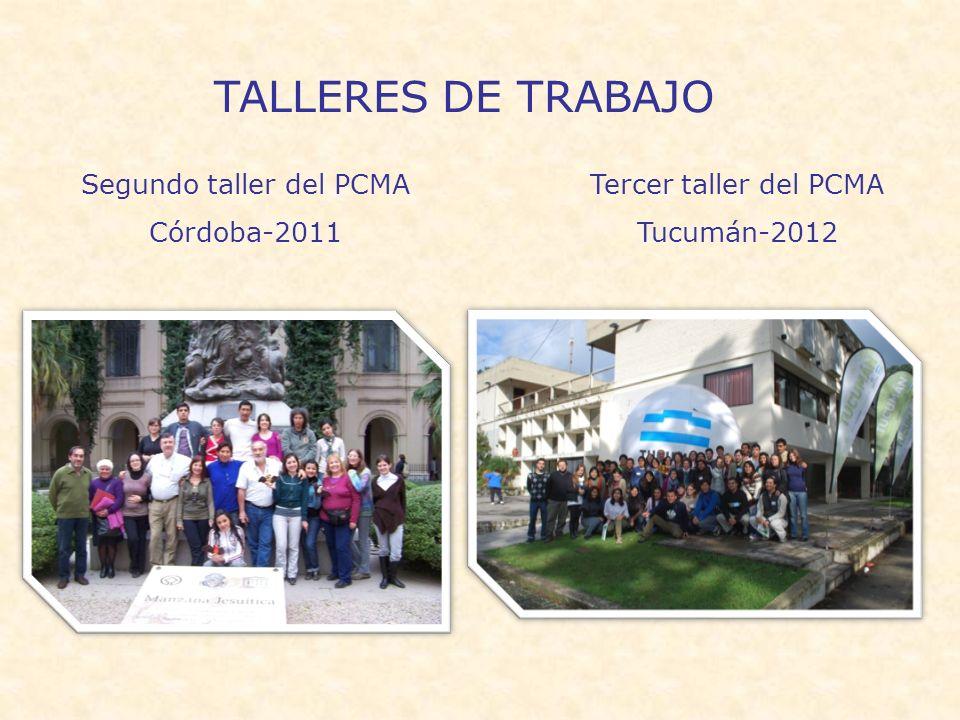 Segundo taller del PCMA
