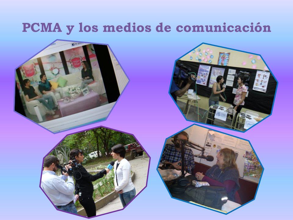 PCMA y los medios de comunicación