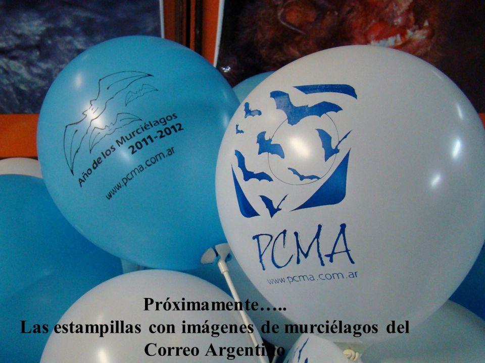 Las estampillas con imágenes de murciélagos del Correo Argentino