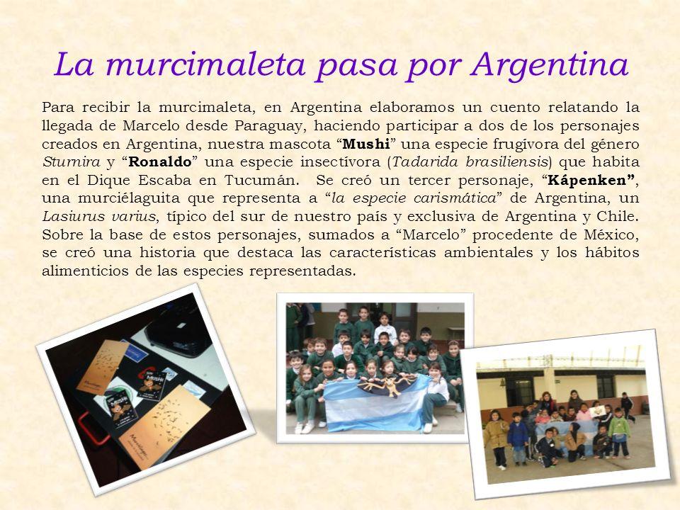 La murcimaleta pasa por Argentina