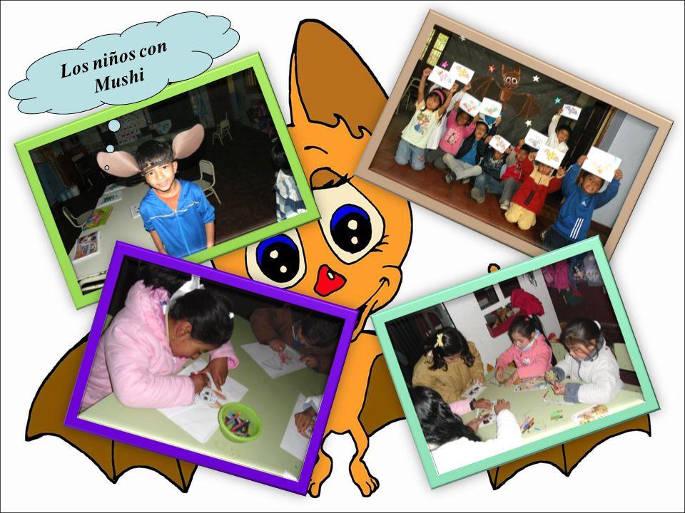 Los niños con Mushi