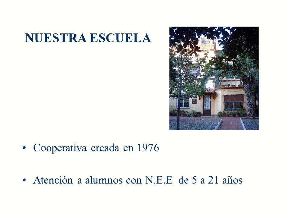 NUESTRA ESCUELA Cooperativa creada en 1976
