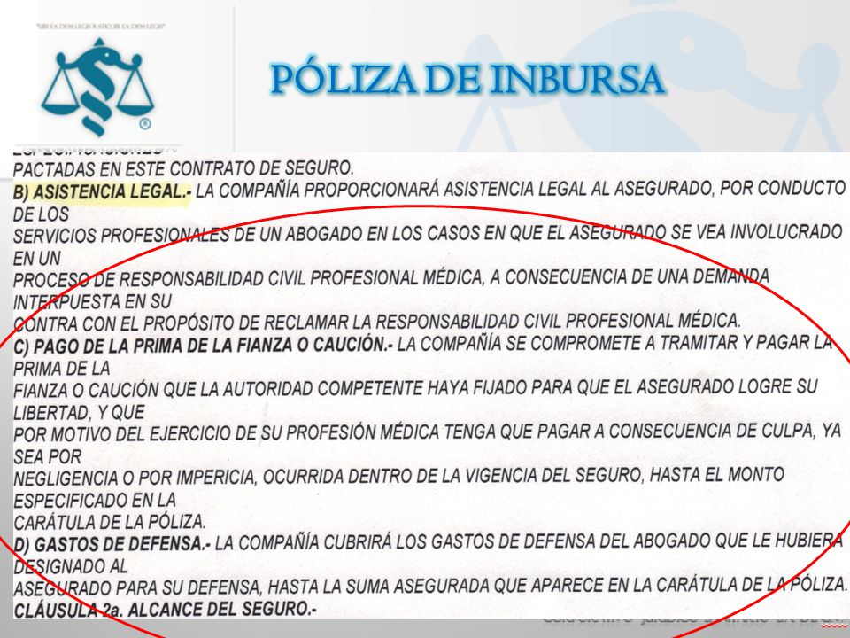 PÓLIZA DE INBURSA