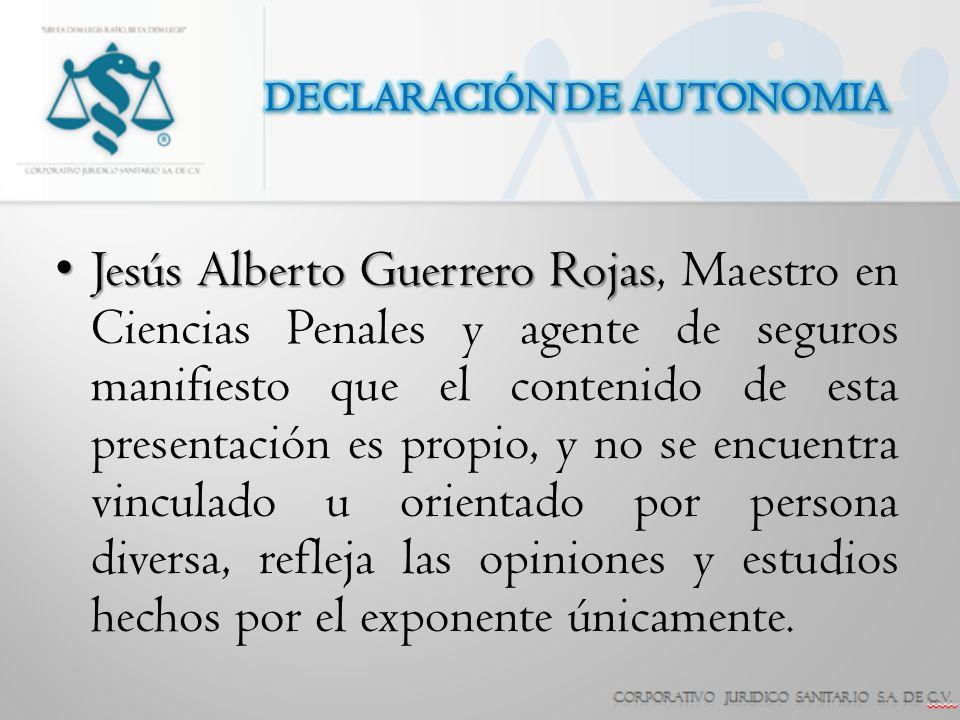 DECLARACIÓN DE AUTONOMIA