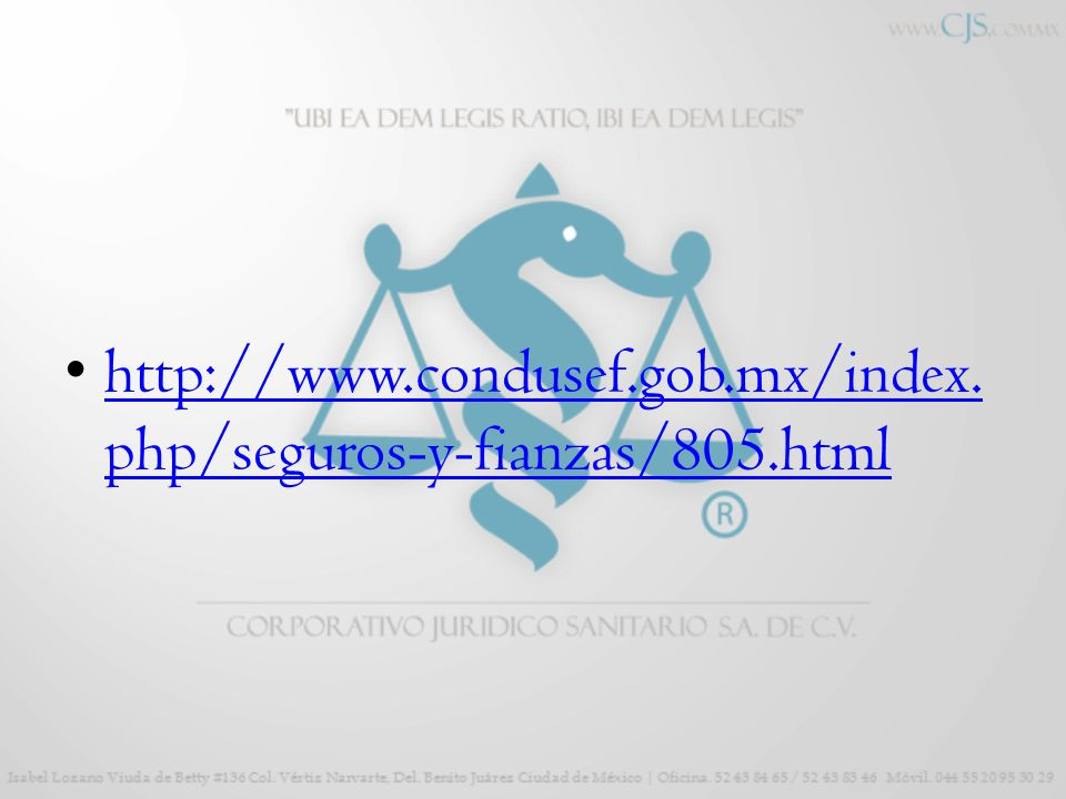 http://www.condusef.gob.mx/index.php/seguros-y-fianzas/805.html