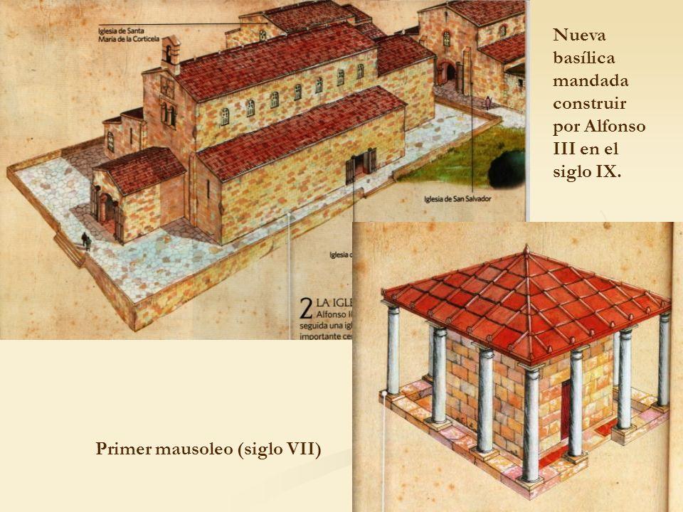 Nueva basílica mandada construir por Alfonso III en el siglo IX.