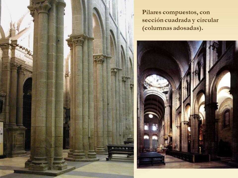 La arquitectura rom nica ppt descargar for Pilares y columnas