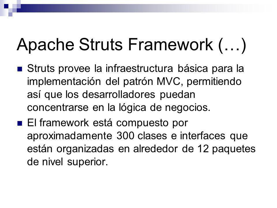 Apache Struts Framework (…)