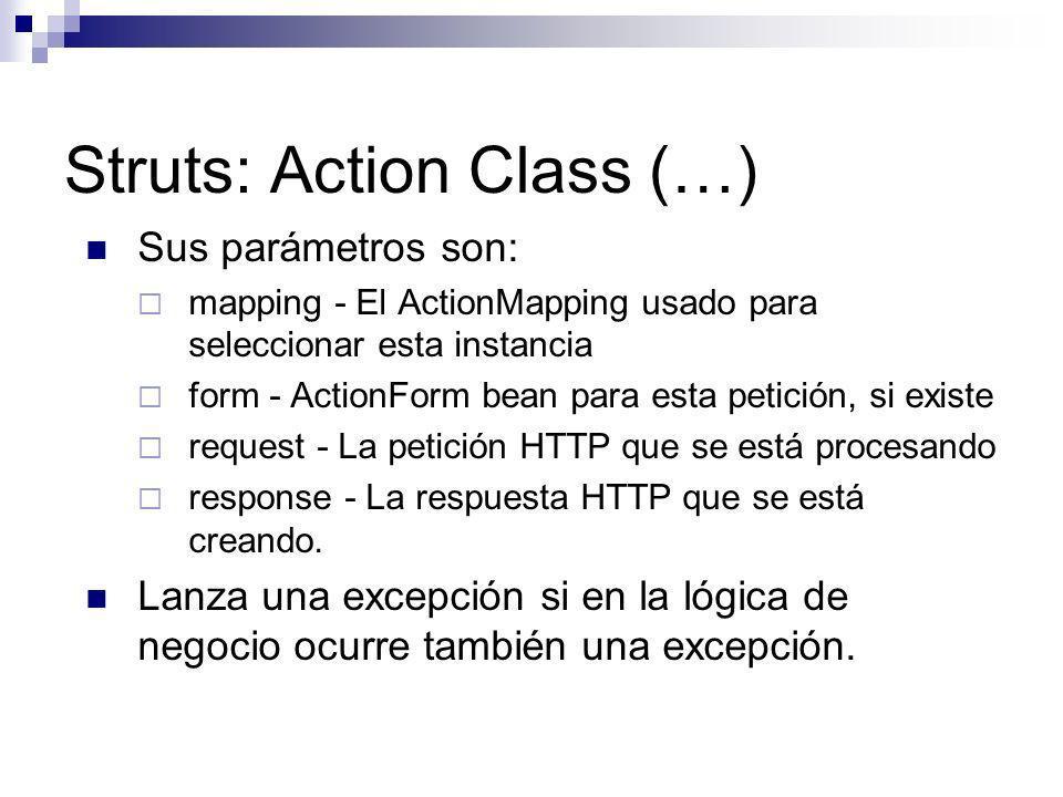 Struts: Action Class (…)