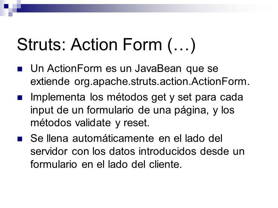 Struts: Action Form (…)