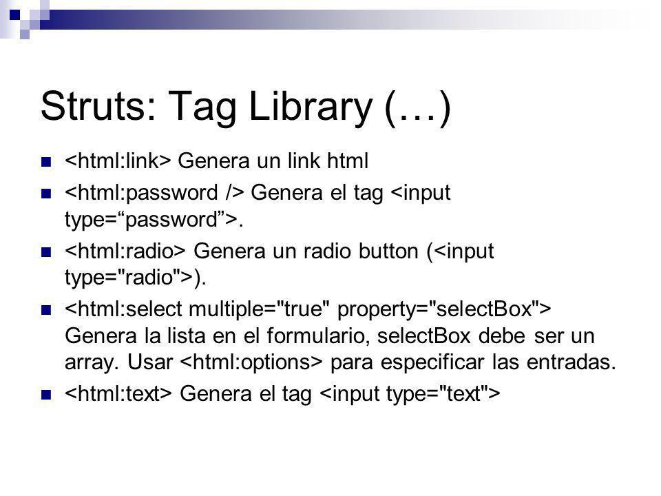 Struts: Tag Library (…)