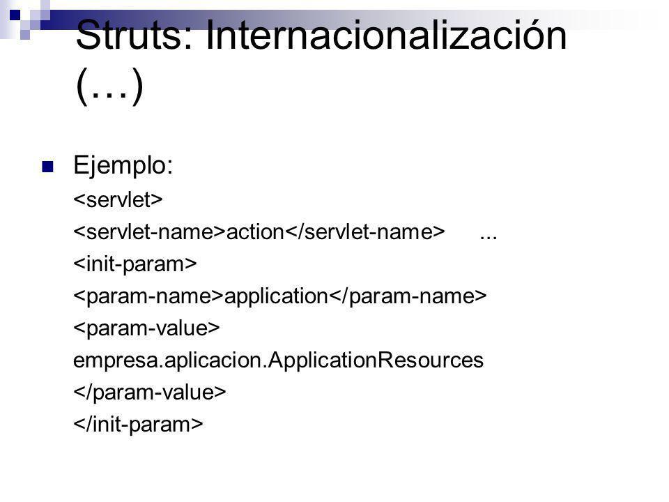 Struts: Internacionalización (…)