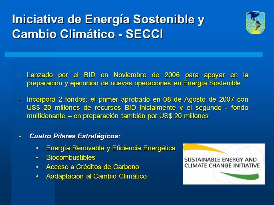 Iniciativa de Energía Sostenible y Cambio Climático - SECCI
