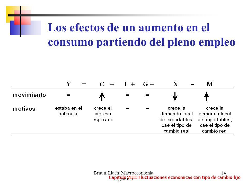 Braun, Llach: Macroeconomia argentina
