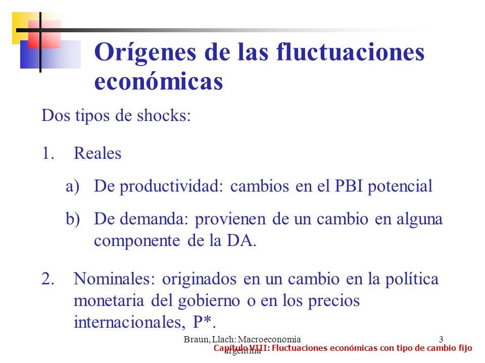 Orígenes de las fluctuaciones económicas