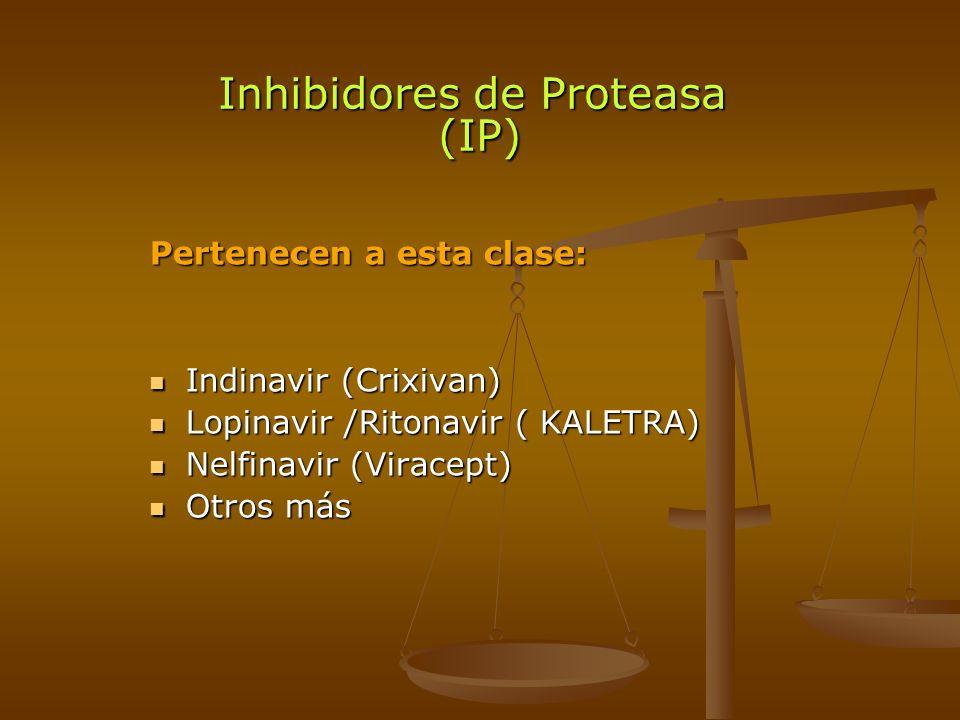 Inhibidores de Proteasa (IP)