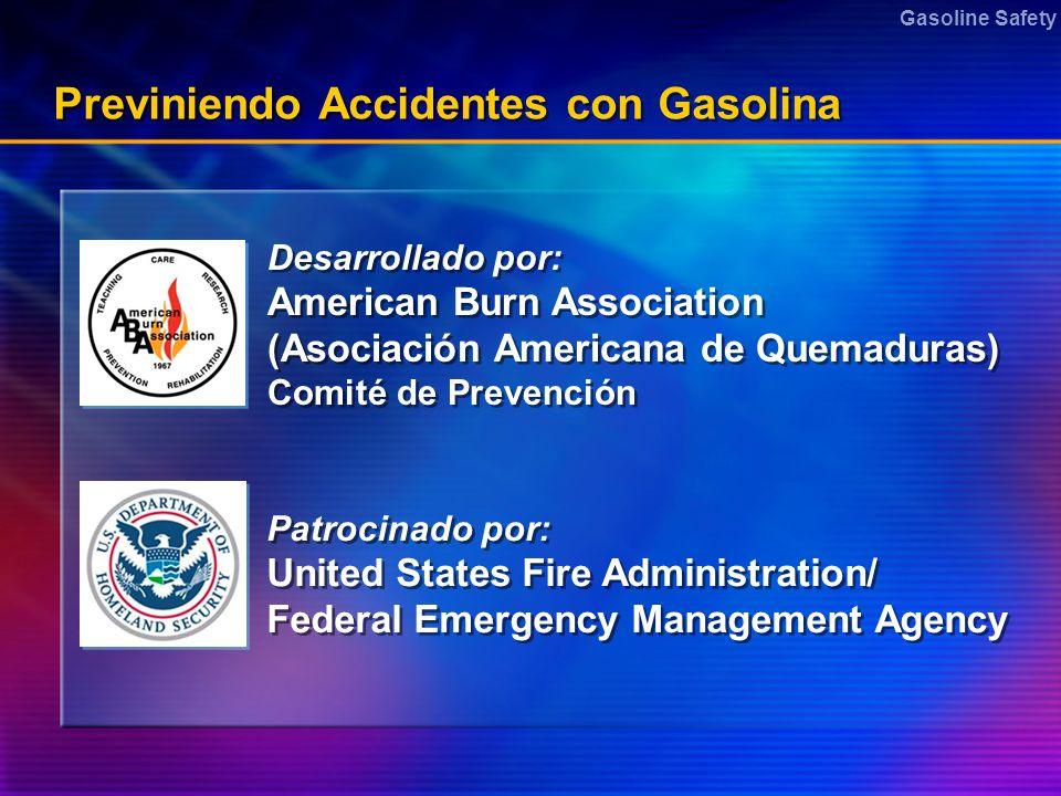 Previniendo Accidentes con Gasolina