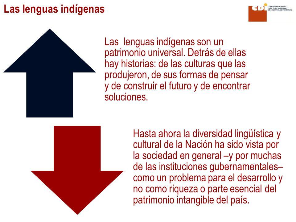 Las lenguas indígenas