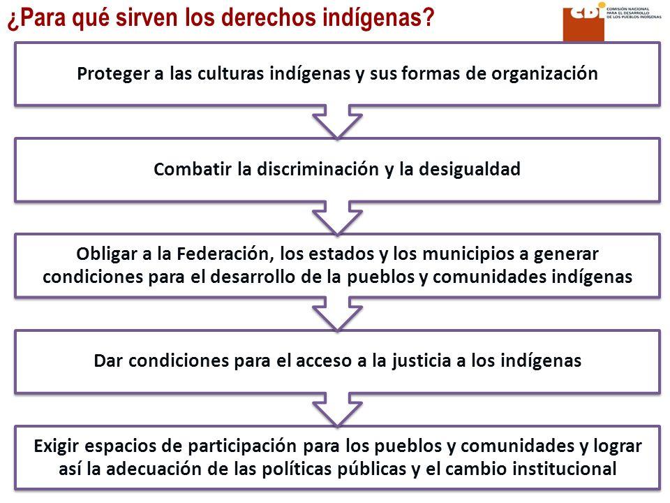 ¿Para qué sirven los derechos indígenas