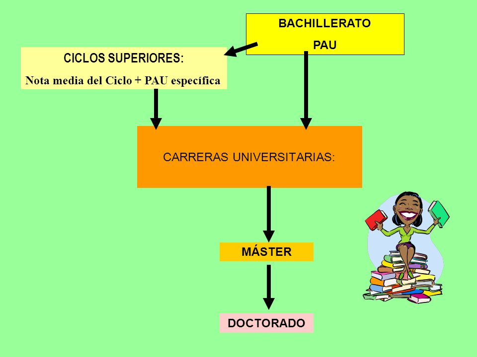 CARRERAS UNIVERSITARIAS: