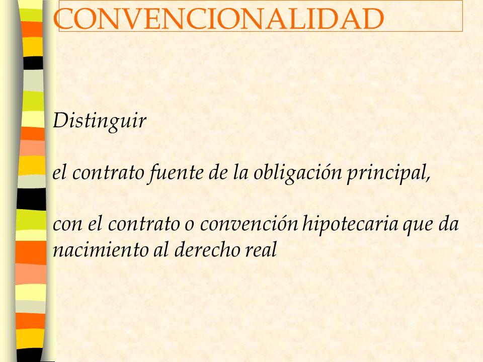 CONVENCIONALIDAD Distinguir