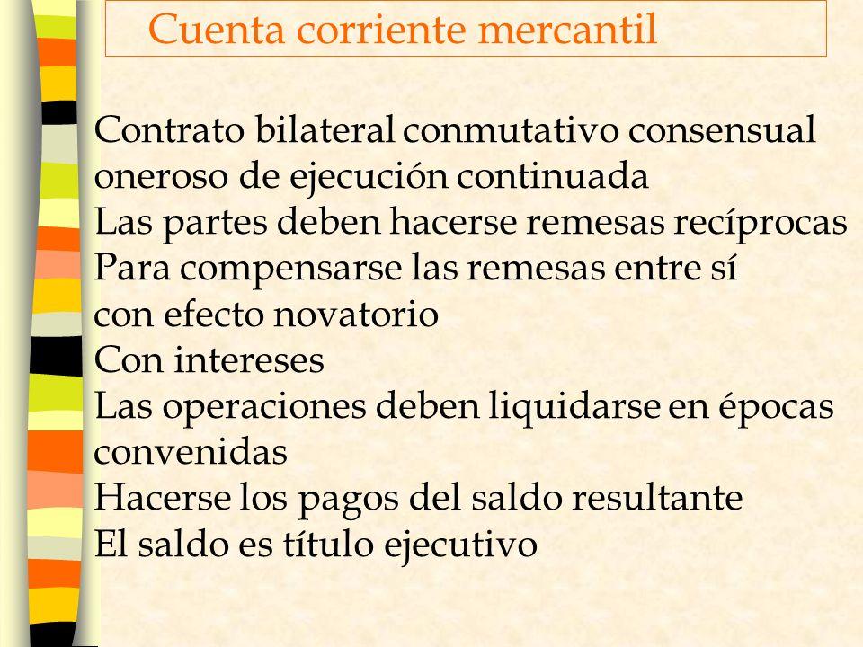 Cuenta corriente mercantil
