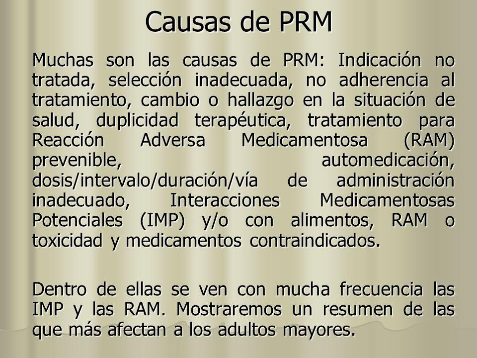 Causas de PRM