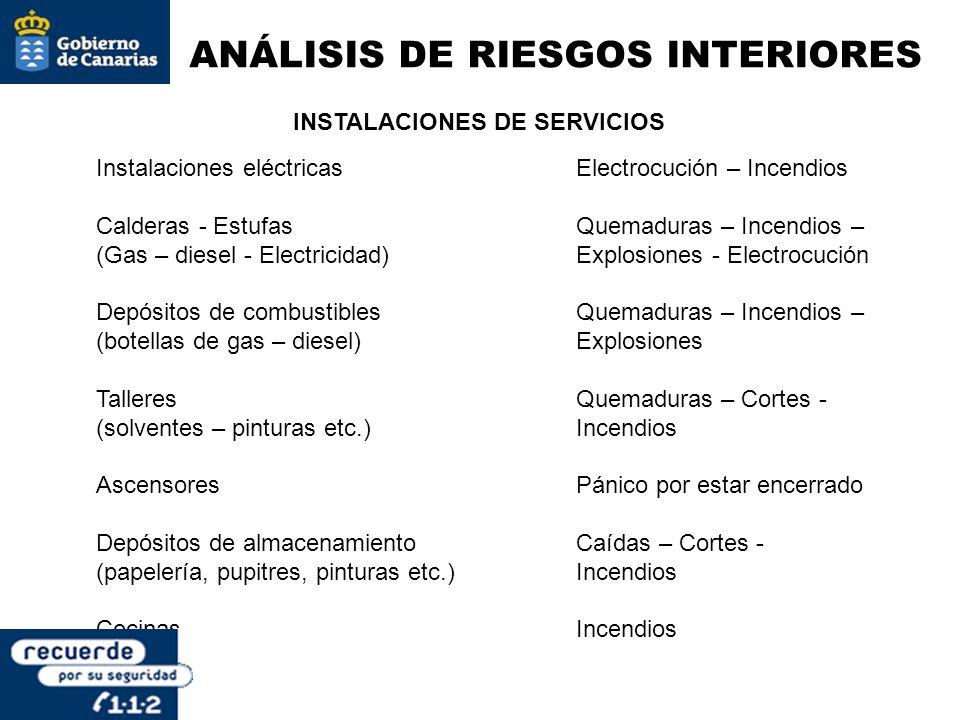 INSTALACIONES DE SERVICIOS