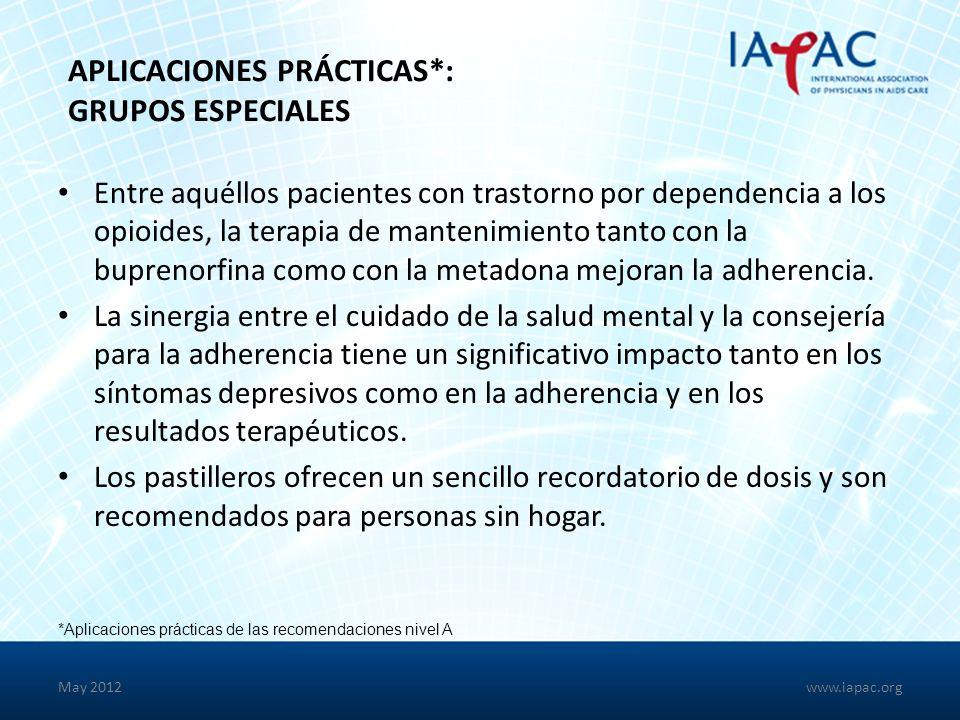 Aplicaciones Prácticas*: Grupos Especiales