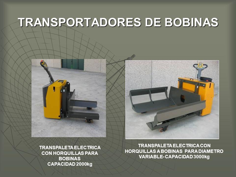TRANSPORTADORES DE BOBINAS