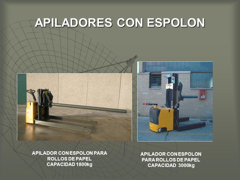 APILADORES CON ESPOLON
