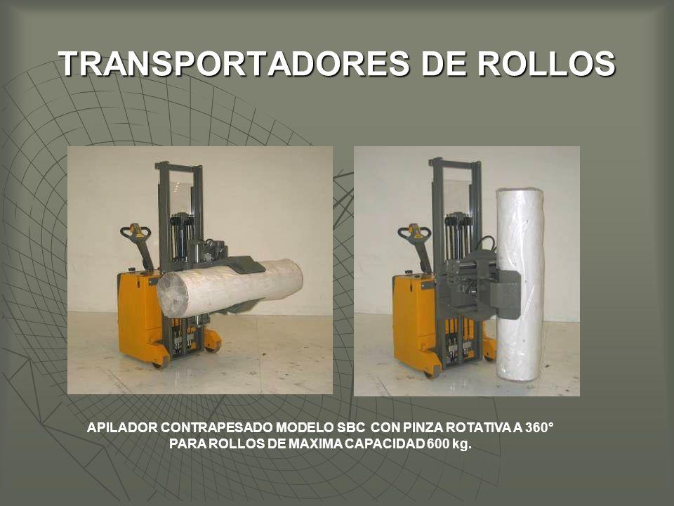 TRANSPORTADORES DE ROLLOS