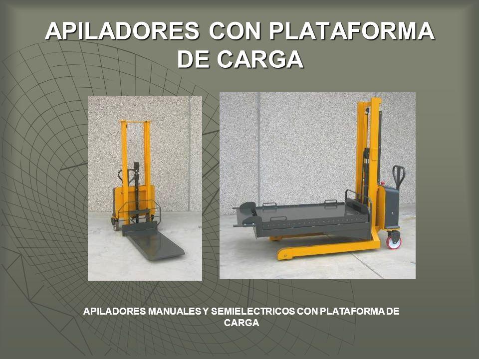 APILADORES CON PLATAFORMA DE CARGA