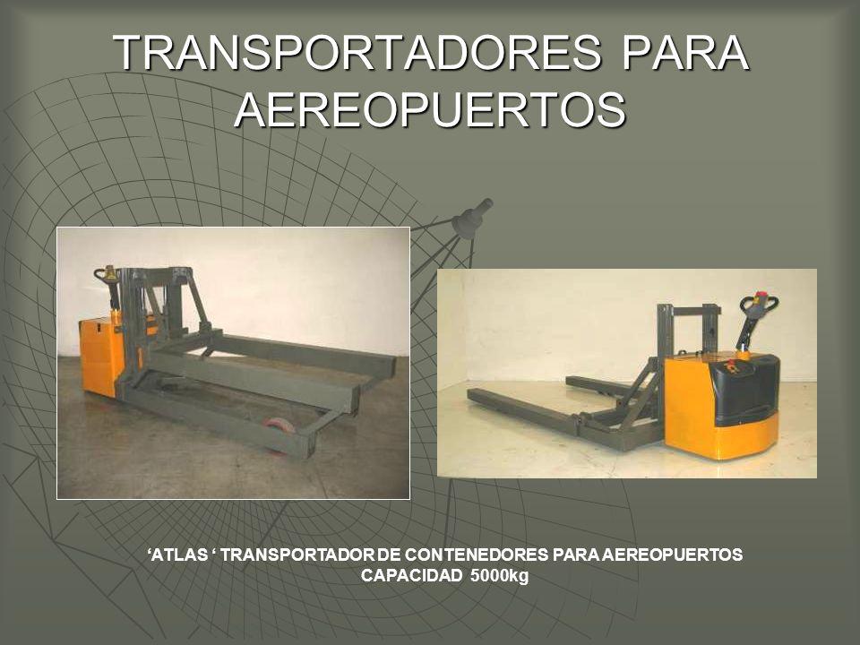 TRANSPORTADORES PARA AEREOPUERTOS