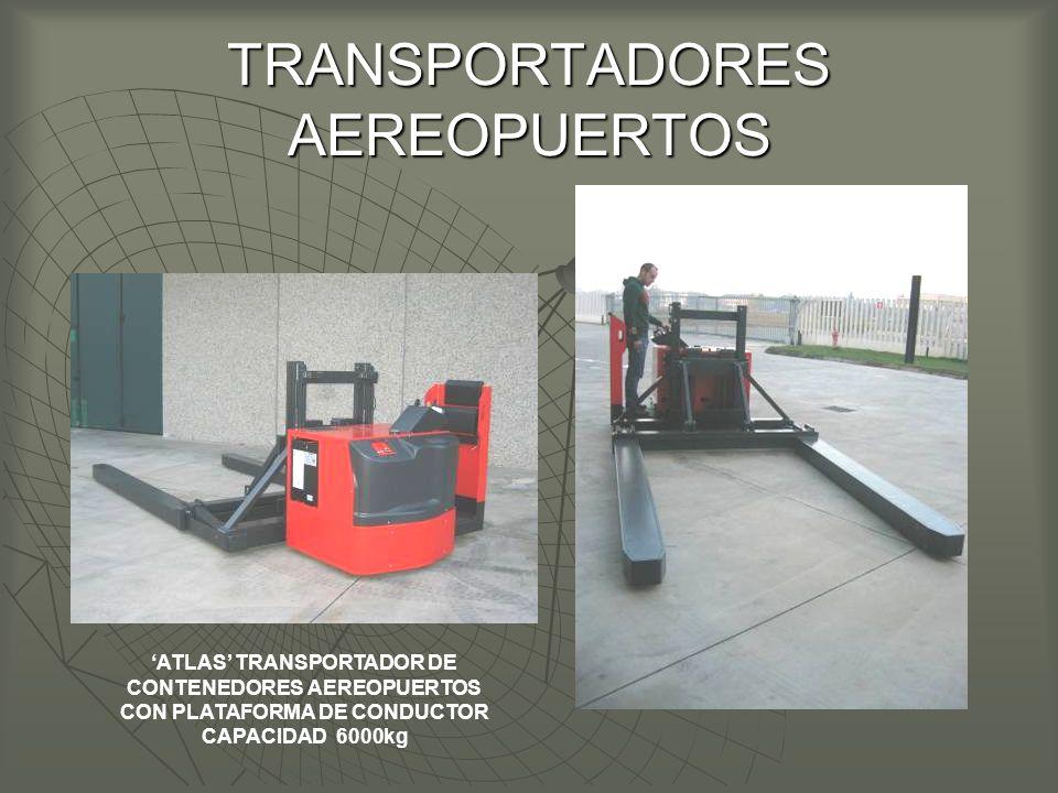 TRANSPORTADORES AEREOPUERTOS